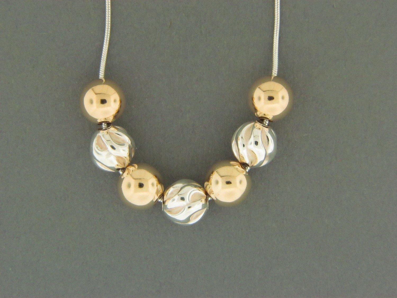 Fancy/Golf Filled Bead Pendant