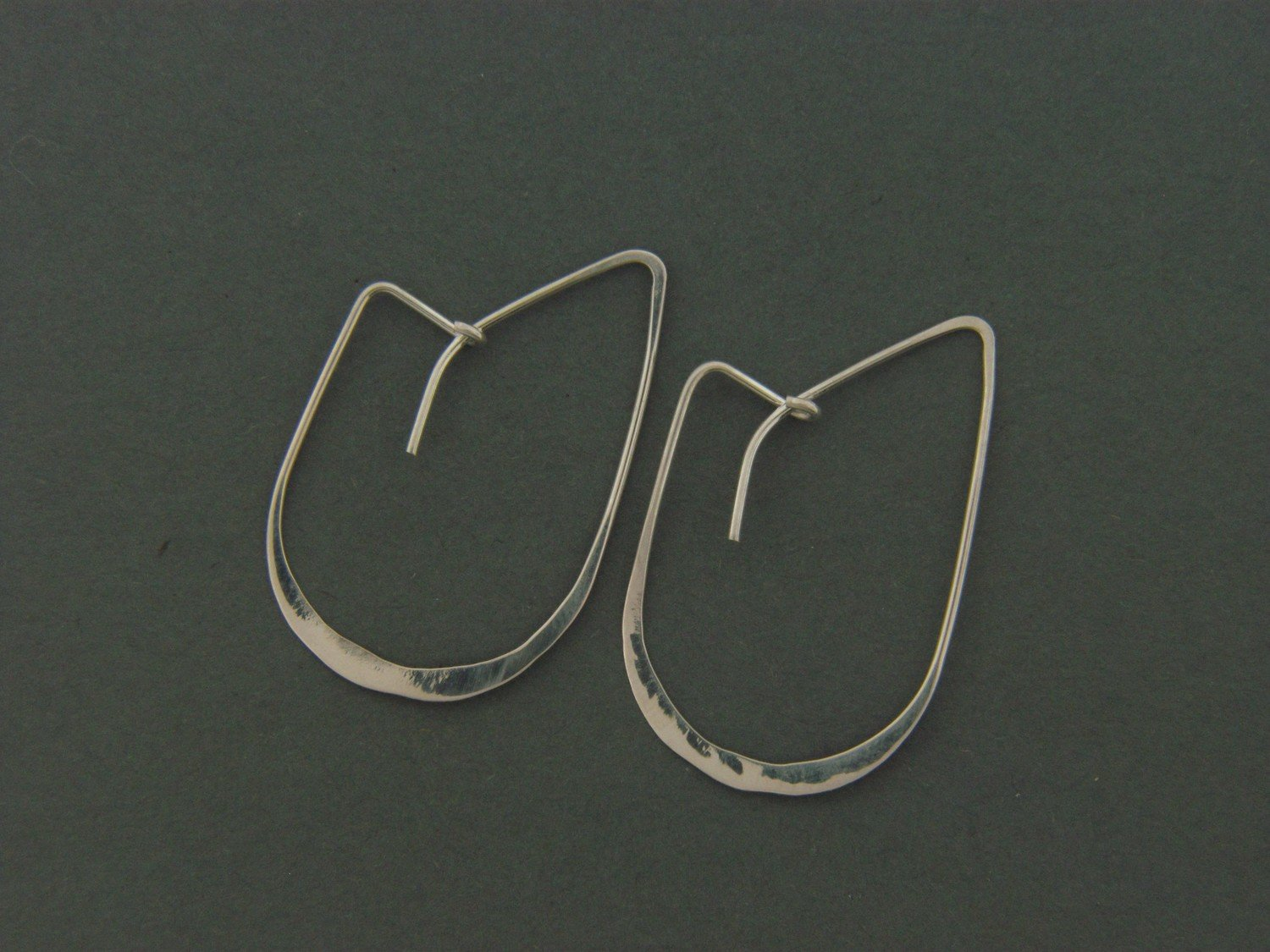 "Small ""J"" Hook Earrings"