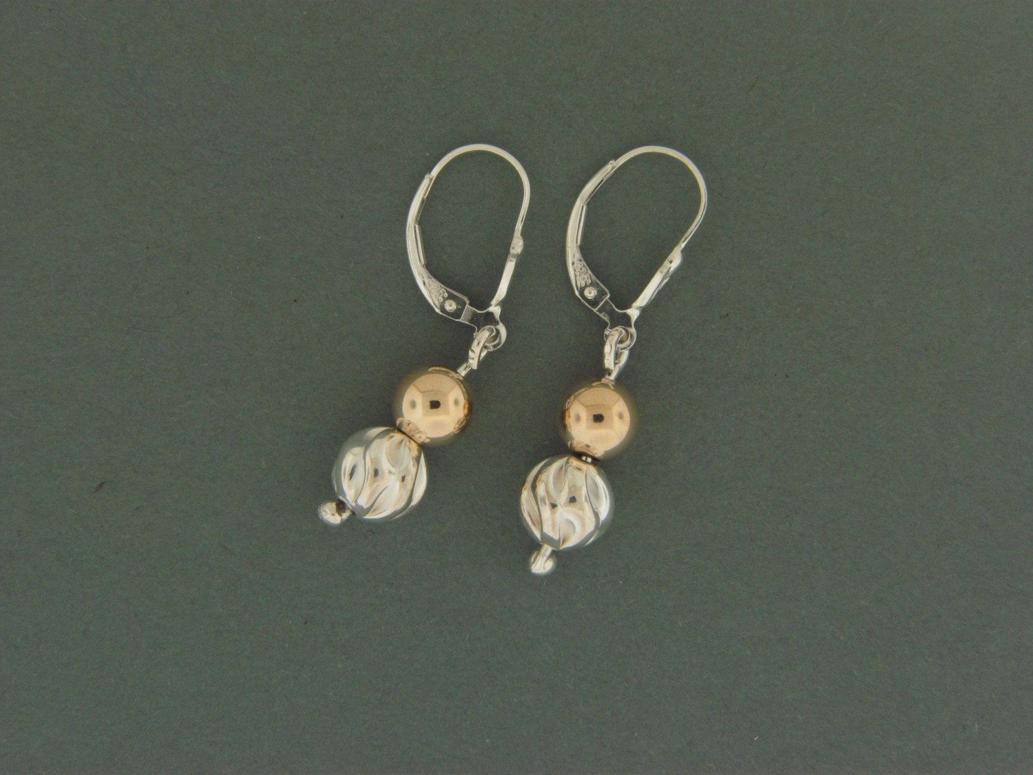 Fancy/ Gold Filled Leverback Earrings