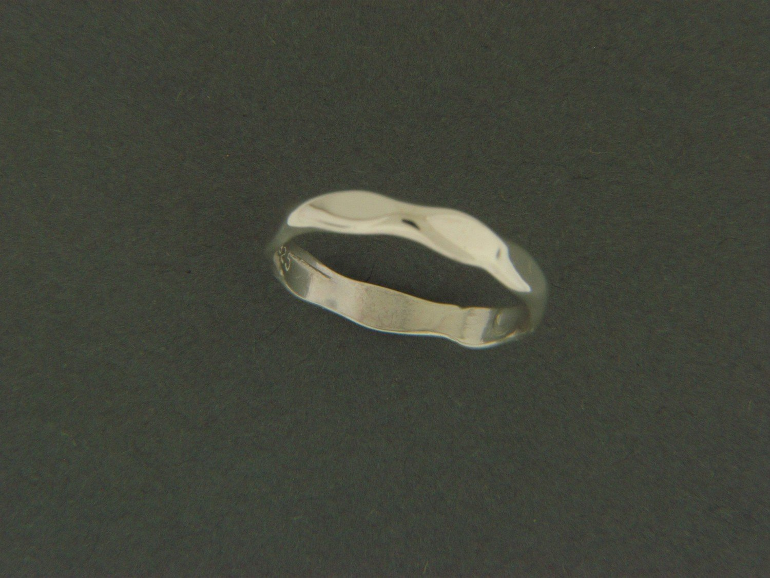 Light Hammered Ring