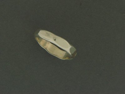 Heavy Hammered Ring