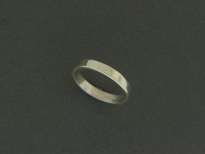 Thin Flat Smooth Ring