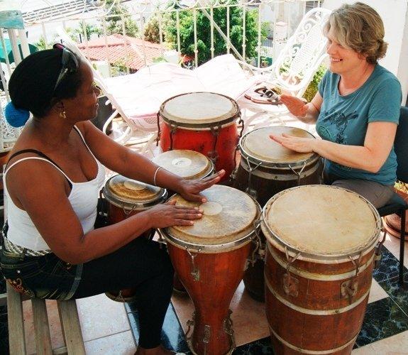 Perkussionsstunde