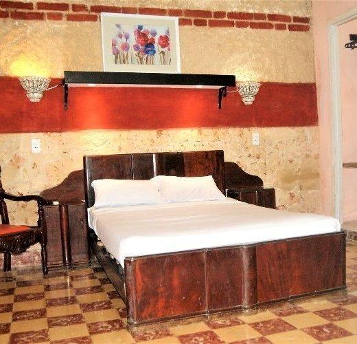 Übernachtung Doppelbett