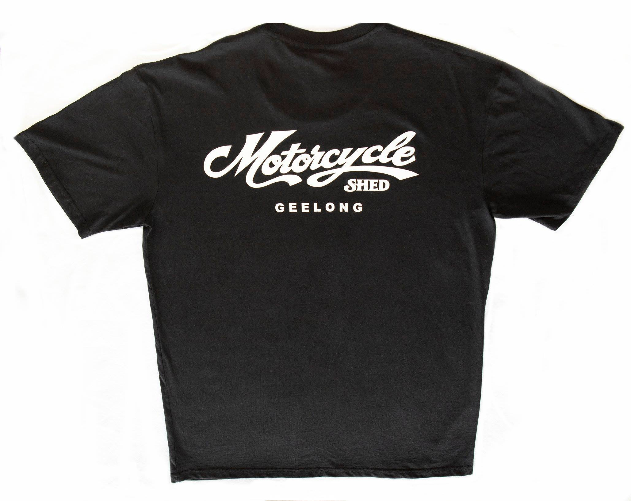 Motorcycle Shed - Italian Night 100% Cotton Tee