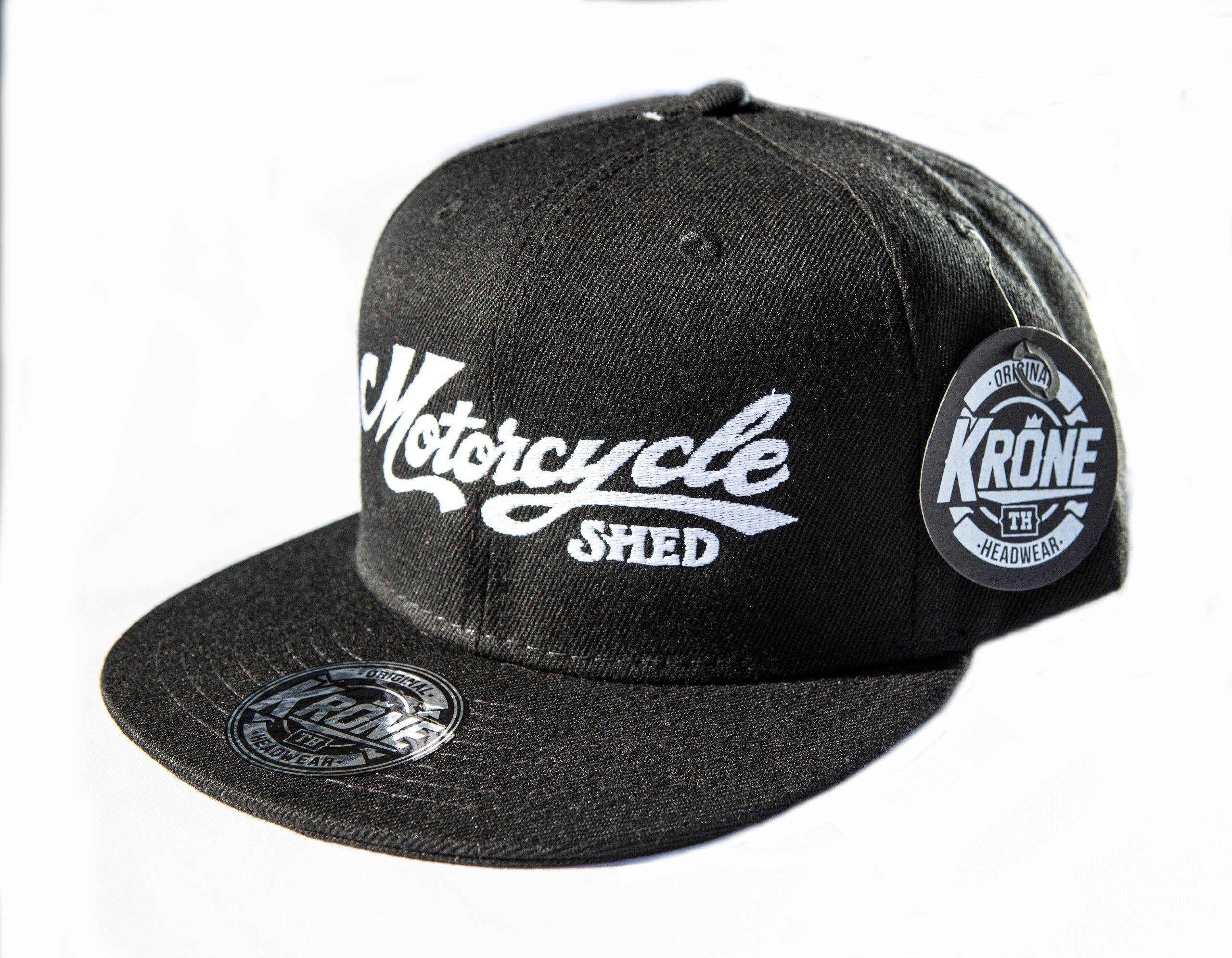 Motorcycle Shed Flat Cap - Cotton Back 00003