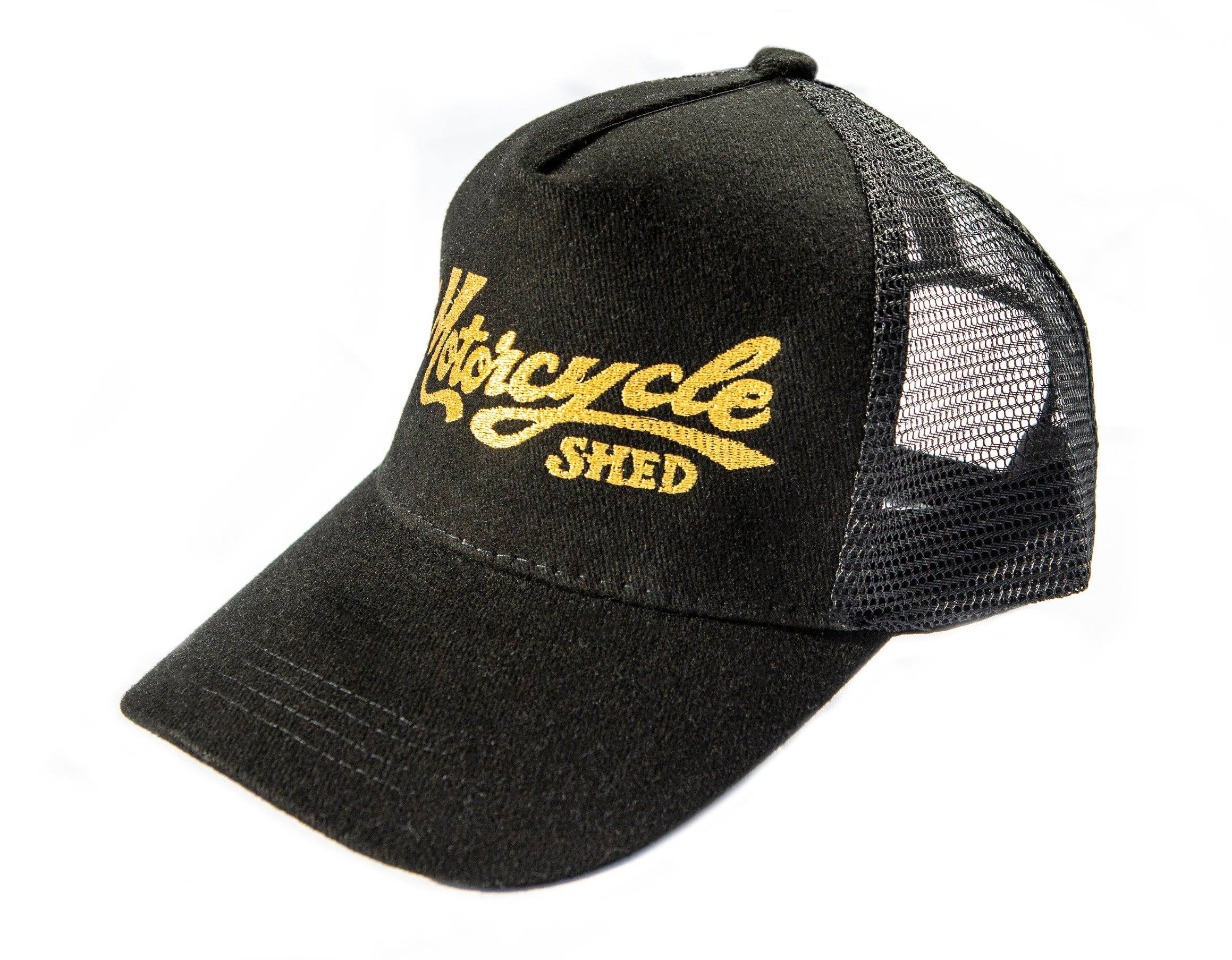 Motorcycle Shed Peak Cap - Mesh Back