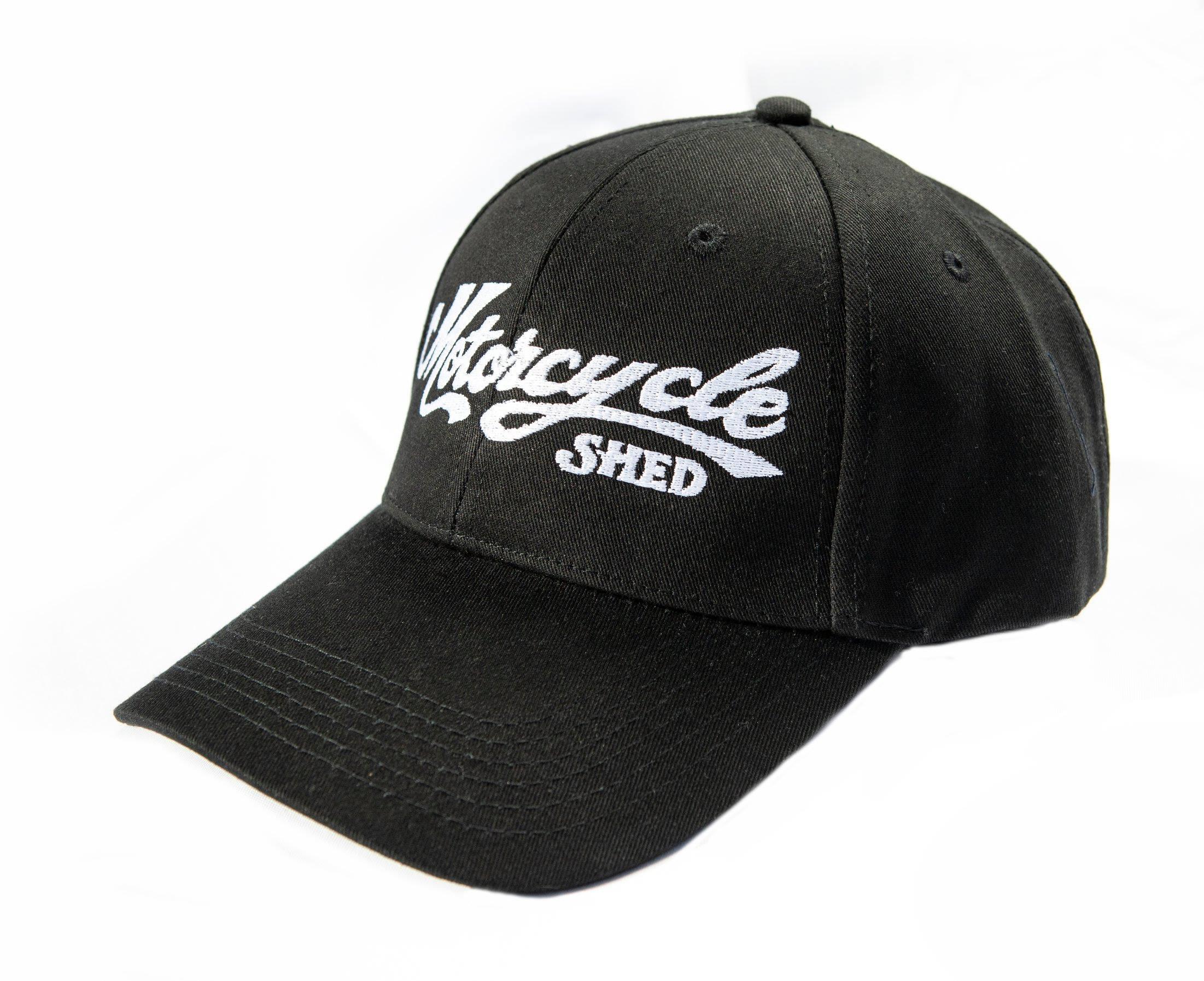 Motorcycle Shed Peak Cap - Cotton Back 00005