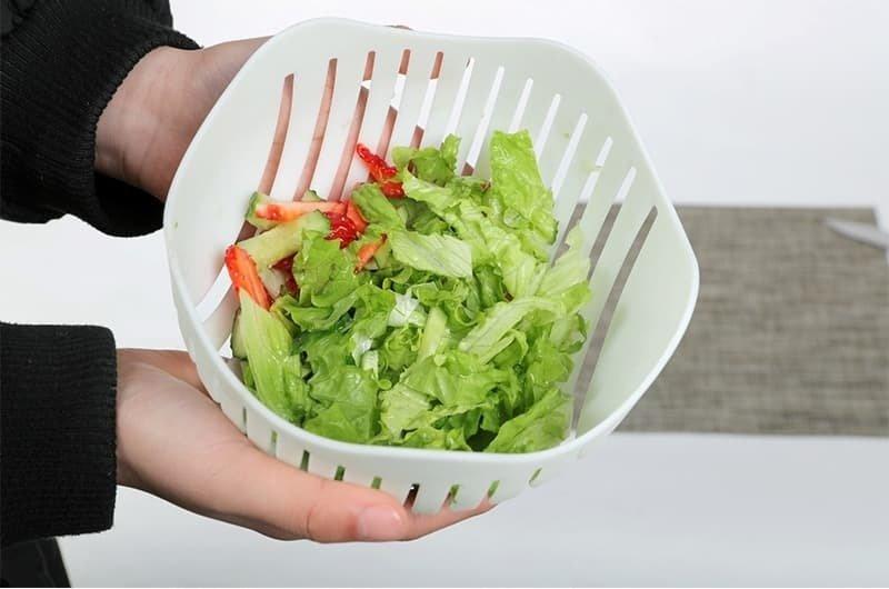 Чаша для сверхбыстрого нарезания салата