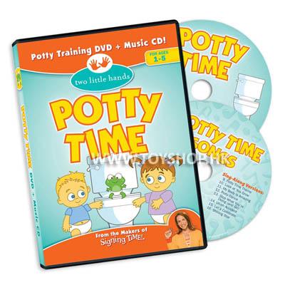Potty Time DVD + Music CD