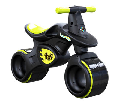 TCV Balance Bike V101 Black (Lime)