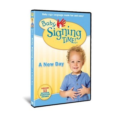 Baby Signing Time Vol. 3: A New Day - DVD