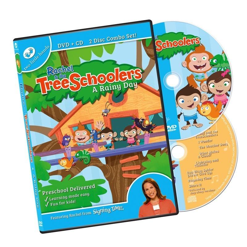 TreeSchoolers Episode 1 (DVD+CD): A Rainy Day