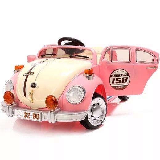 Beetle in Pink