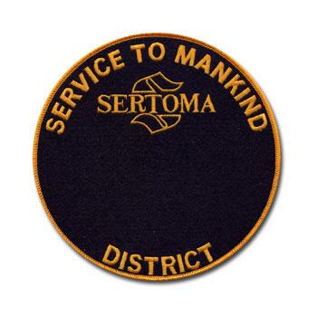 District Service to Mankind Medallion