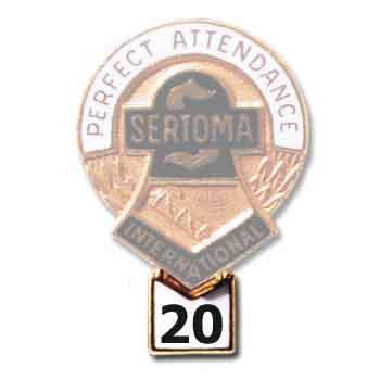 Attendance Tab - 20 year 1425