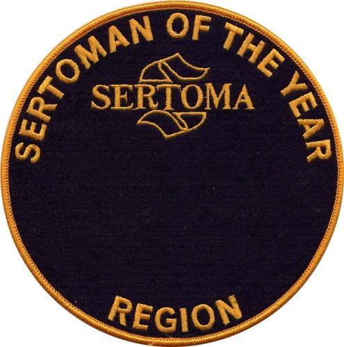 Region Sertoman of the Year Medallion 1211