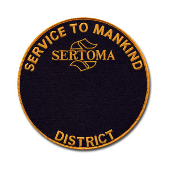 District Service to Mankind Medallion