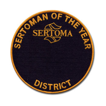 District Sertoman of the Year Medallion