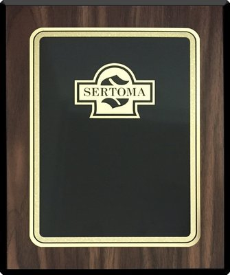 Classic Black Plaque