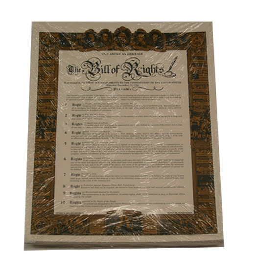 Bill of Rights - Small 1703