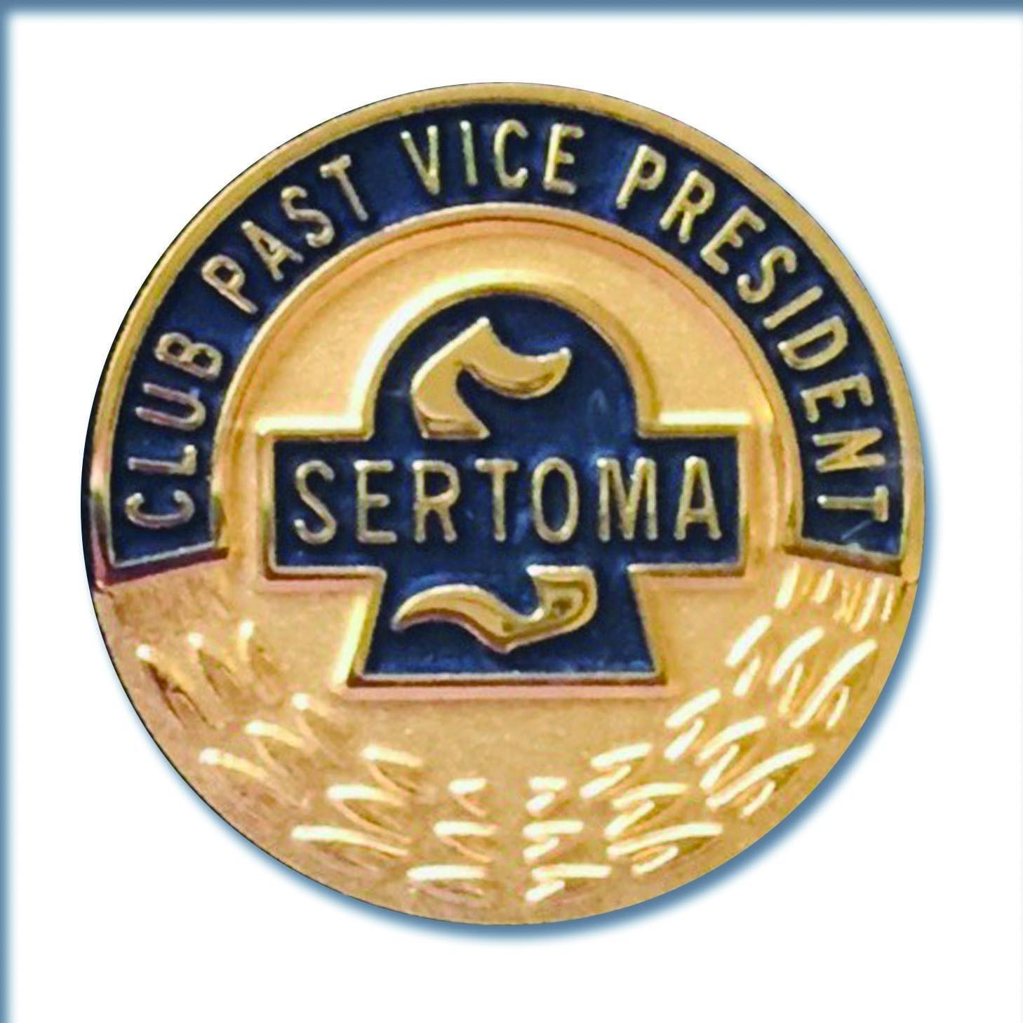Club Past Vice President Pin 1435