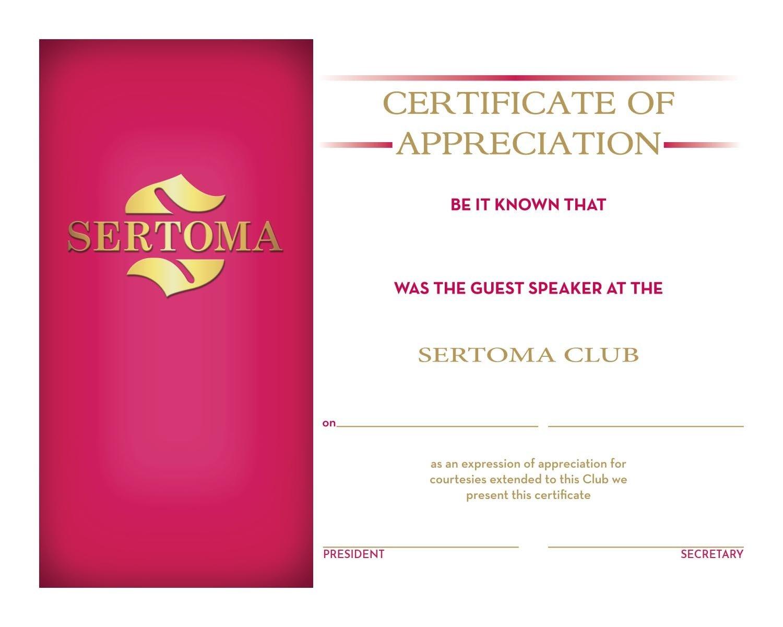 Guest Speaker Certificate 1127