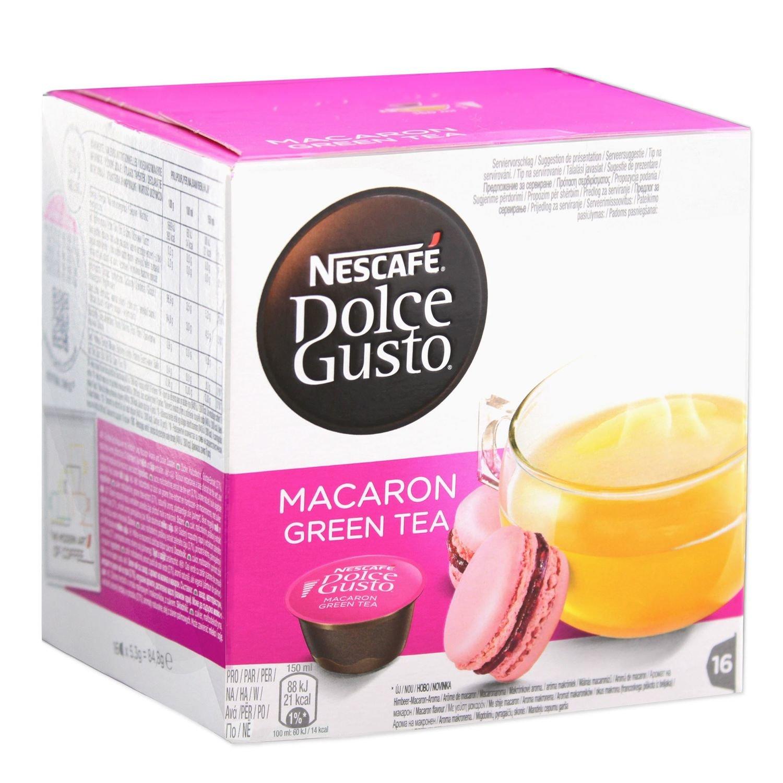 NESTLE MACARON GREEN TEA DA 16 CAP