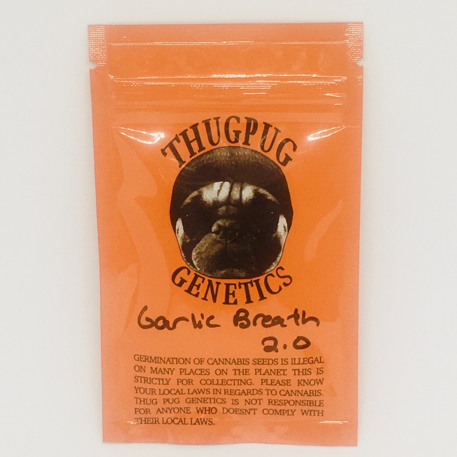 Thug Pug Garlic Breath