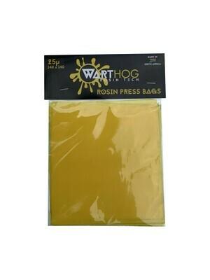 Warthog Rosin Bags 140/80 36 Micron