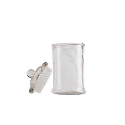 Glass Pop Top Stash Jar