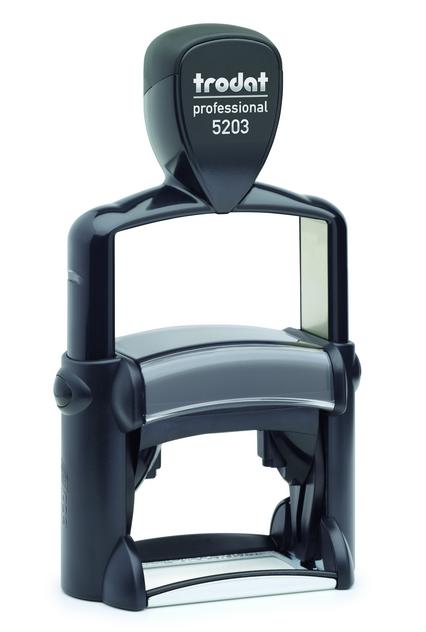 TRODAT PRO 5203 - TESTO 6 RIGHE - MM 49x28 TRO5203