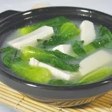 XCN【小厨娘】Green & White 小菜豆腐汤