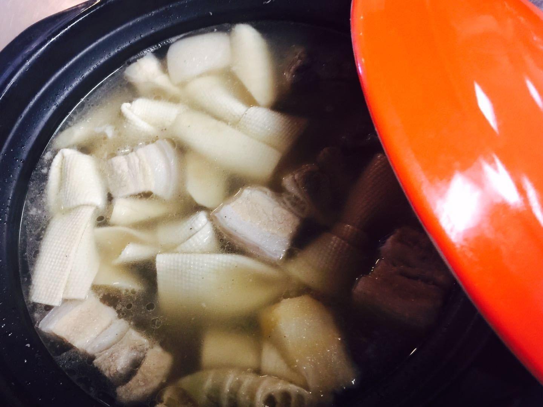 JNC【江南村】腌笃鲜 Fresh & Salted Pork w/ Bamboo Soup (Closed Tuesday)