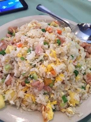 XCN【小厨娘】Fried Pineapple Rice with Chicken 菠萝鸡饭