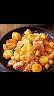 XZXW【湘知湘味】海鲜豆腐(不辣)
