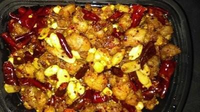 XCN【小厨娘】Stir Fried Spicy Chicken Cube 辣子鸡