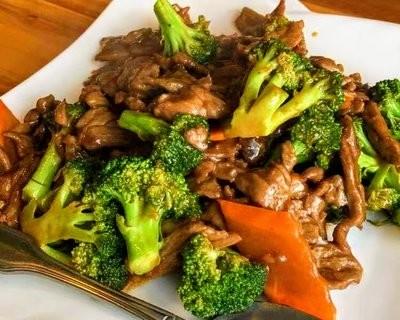 SJKT【双椒 KATY】芥兰牛 Sauteed Broccoli Beef