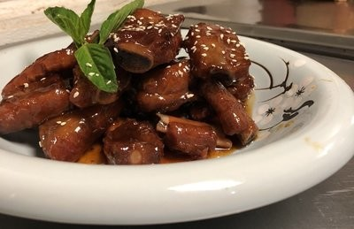 SJKT【双椒 KATY】糖醋排骨 Sweet and Sour Pork Ribs