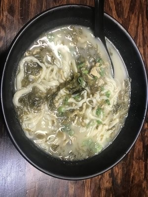 YWJ【雅味居】雪菜肉丝手擀面 (Closed Tuesday)