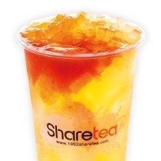 【Sharetea】❄Kiwi Fruit Tea with Aiyu Jelly