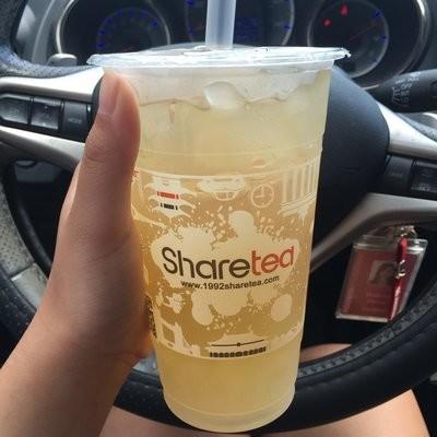 【Sharetea】❄Honey Lemon with Aloe Vera (Non-Caffeinated)