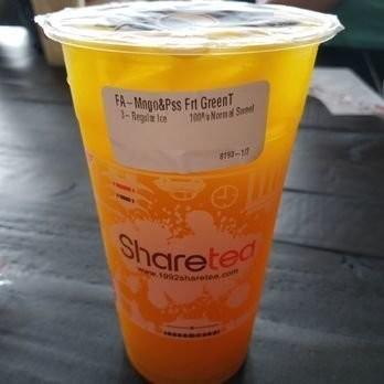 【Sharetea】❄Mango & Passion Fruit Green Tea