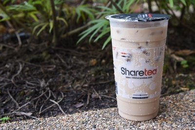 【Sharetea】❄Fresh Milk Tea(Black/Green/Oolong Tea)