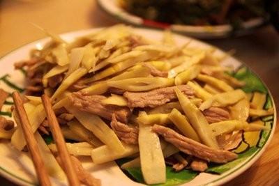 YR【长江】笋尖肉丝 Shredded Pork w/Bamboo Shoot (Closed Tuesday)