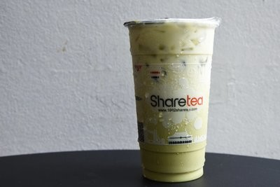 【Sharetea】❄Matcha with Fresh Milk