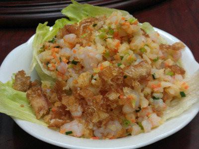 YR【长江】生菜虾松 Shrimp Lettuce Wrap (Closed Tuesday)