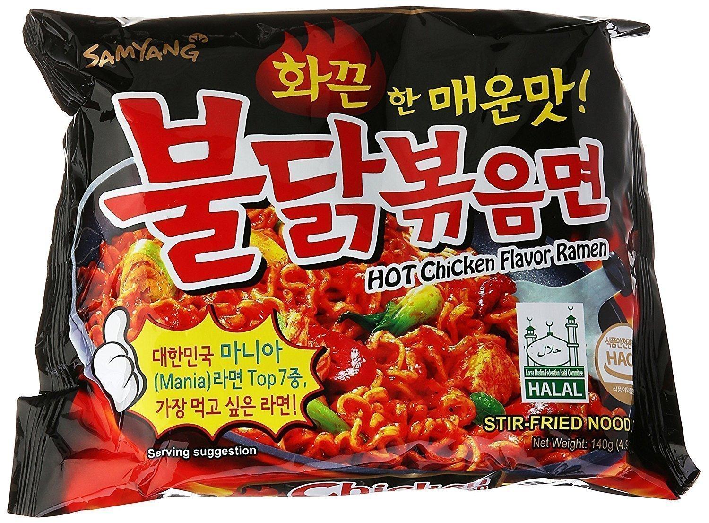 【Welfresh Grocery】HOT CHICKEN FLAVOR RAMEN - SAMYANG 三养超辣鸡肉味拌面(每天上午9点截单)