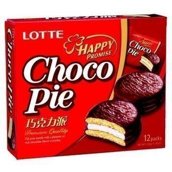 【Welfresh Grocery】LOTTE CHOCO PIE 乐天巧克力派(每天上午9点截单)