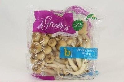 【Welfresh Produce】BROWN BEECH 棕色山 灰菇, 1 ea 150g(每天上午9点截单)